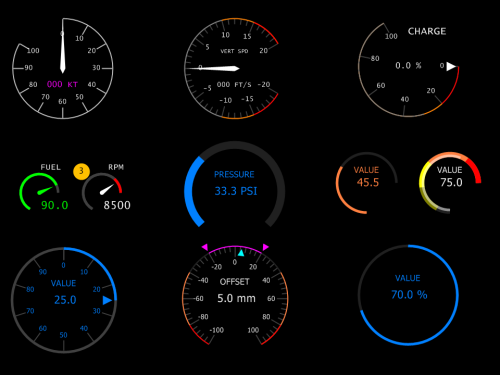 Example Dial Indicators